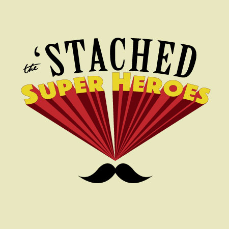 Stached Super-Heroes